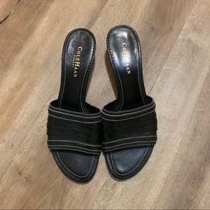 Cole Haan Women's Black Slip On Shoes Size 7.5